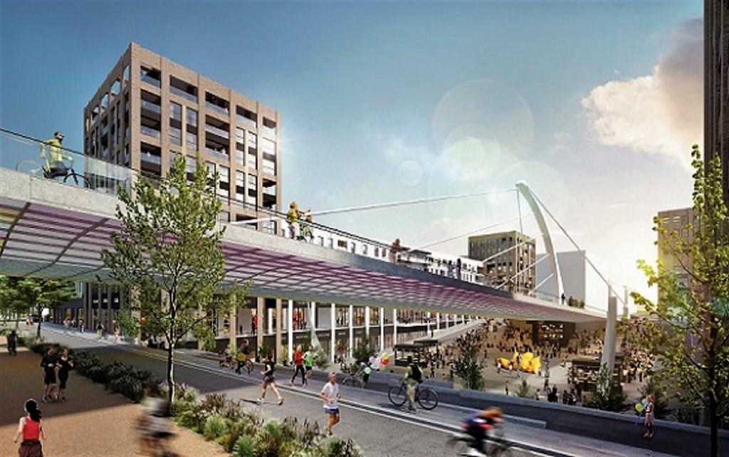 Vize 2. etapy projektu Rohan City předpokládá výstavbu zhruba 400 bytů