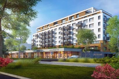 Hrubá stavba projektu Zelená Libuš dokončena, k prodeji zbývá jen jeden byt