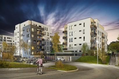 YIT zahájila pod názvem Pori již osmou etapu projektu Suomi Hloubětín