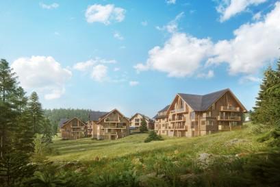 CRESCON zahájil v Krkonoších realizaci rekreačního bydlení, které je ale i zajímavou investicí!