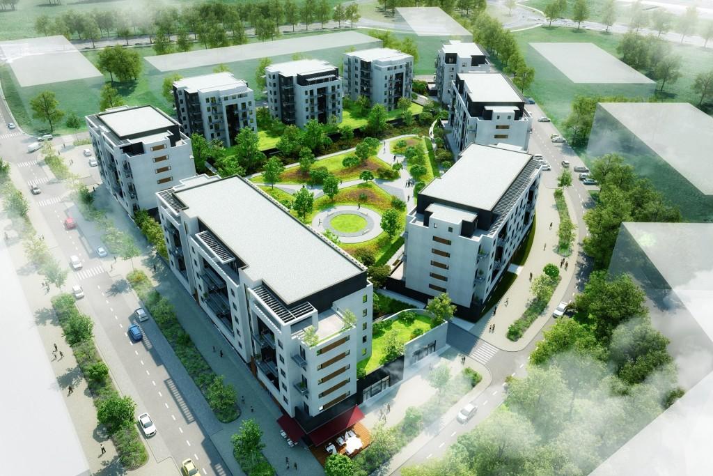 Společnost Daramis začala s prodejem bytů třetí fáze plzeňského projektu Unicity