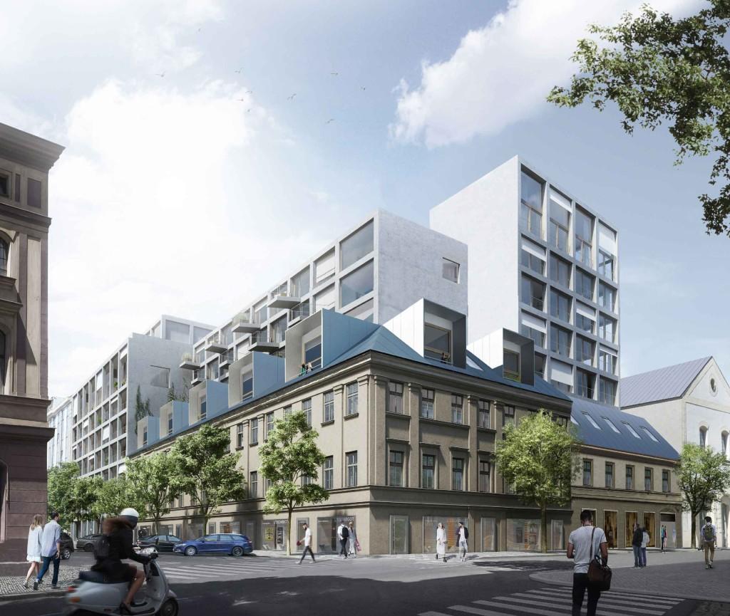 AFI Europe začne ještě letos v Karlíně s výstavbou nového bydlení v multifunkčním objektu BLOCK B