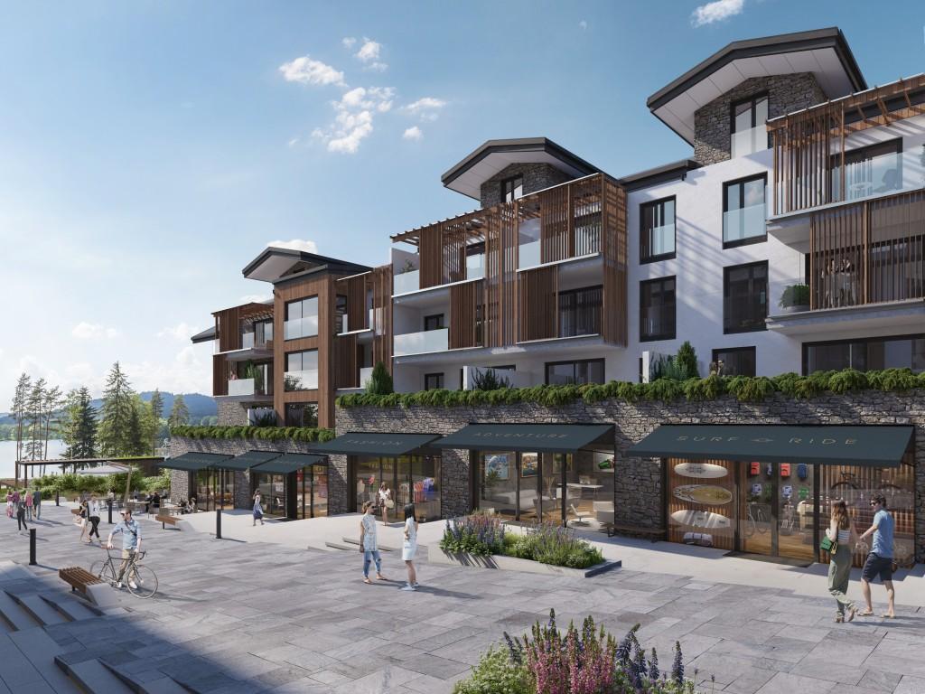 U lipenského jezera se začíná stavět ambiciózní projekt MOLO Lipno Resort
