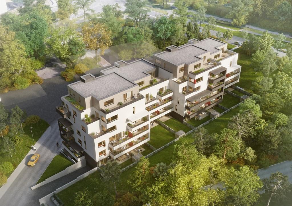Nový projekt Rezidence Písková získal stavební povolení