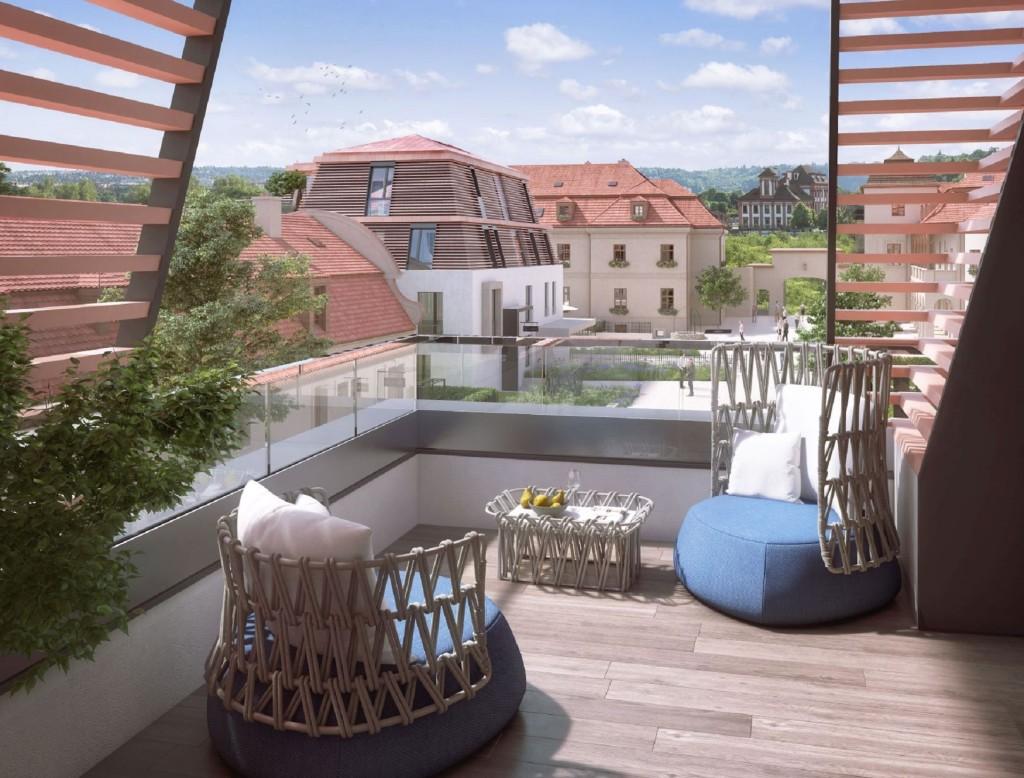 Luxusní rekonstrukce a dostavba barokního dvorce Chateau Troja Residence získala ocenění v rámci Realitního projektu roku 2019