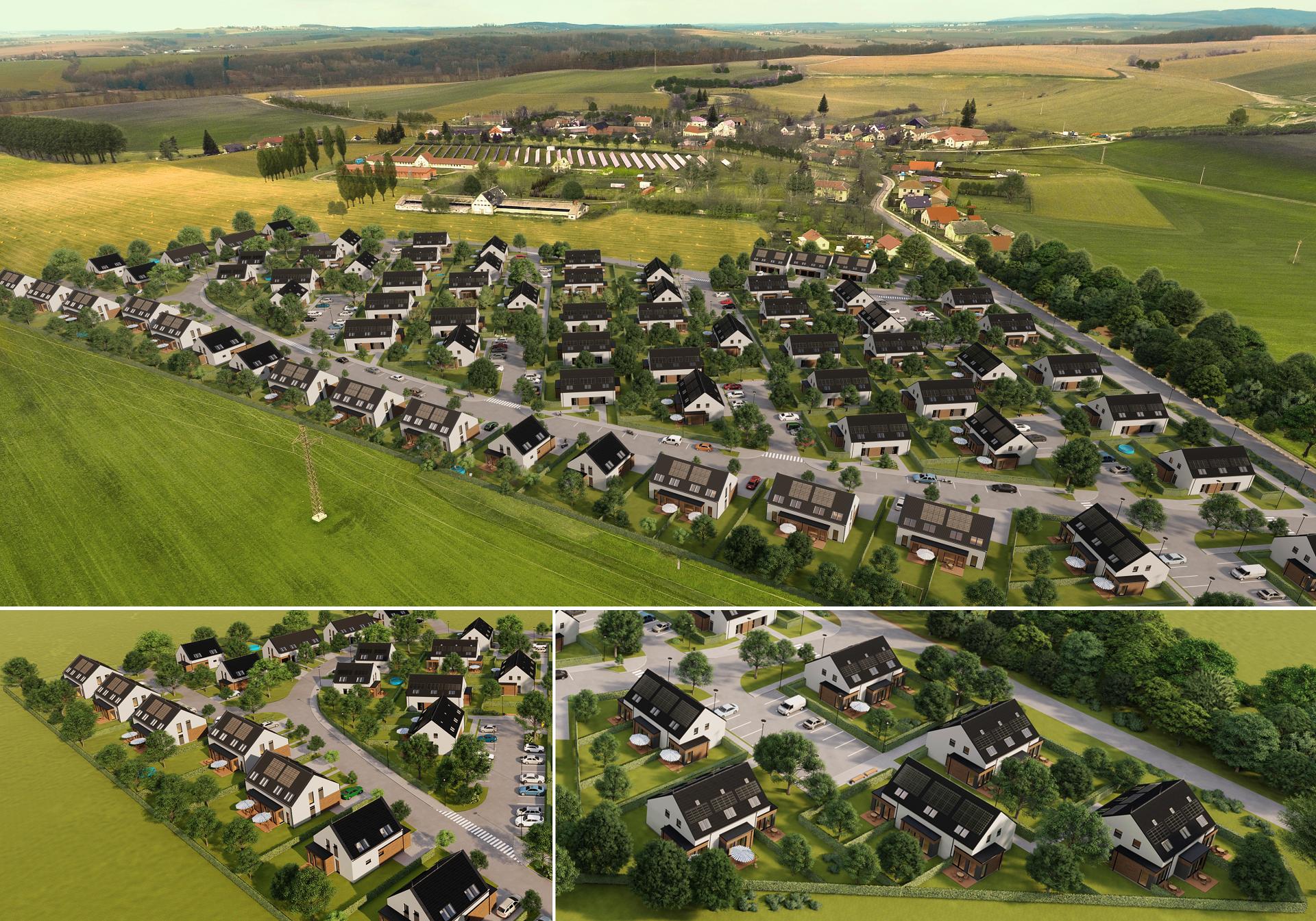 V Rodově vyrůstá bydlení šetrné k životnímu prostředí, ale i kapse klientů