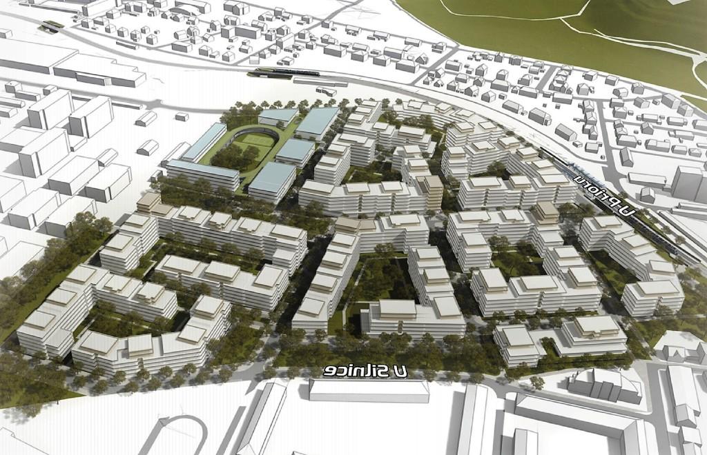 Central Group postaví v Praze 6 za 13 miliard novou rezidenční čtvrť