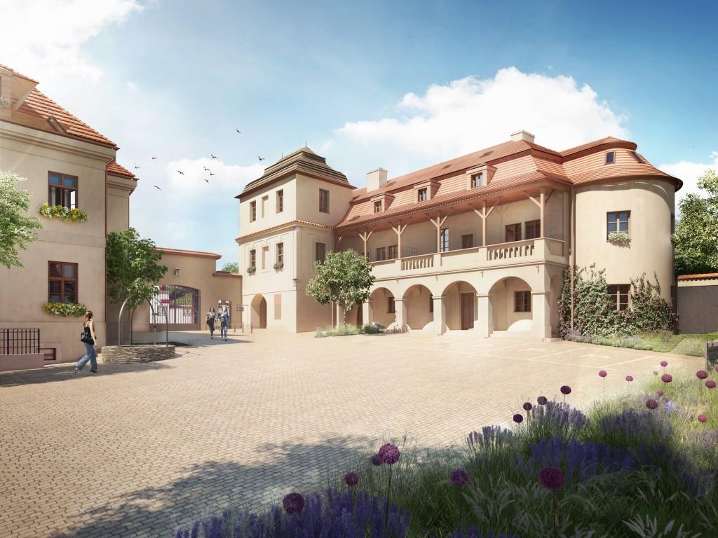 Luxusní bydlení Chateau Troja Residence spěje ke kolaudaci, k nahlédnutí je připraven vzorový byt