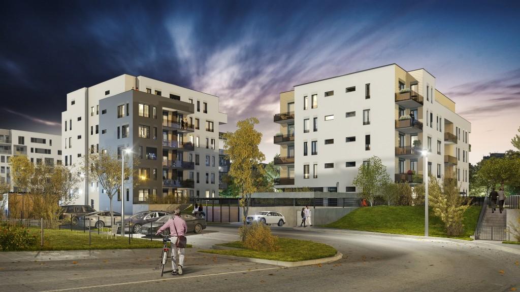V projektu Suomi Hloubětín dokončili hrubou stavbu etapy Pori