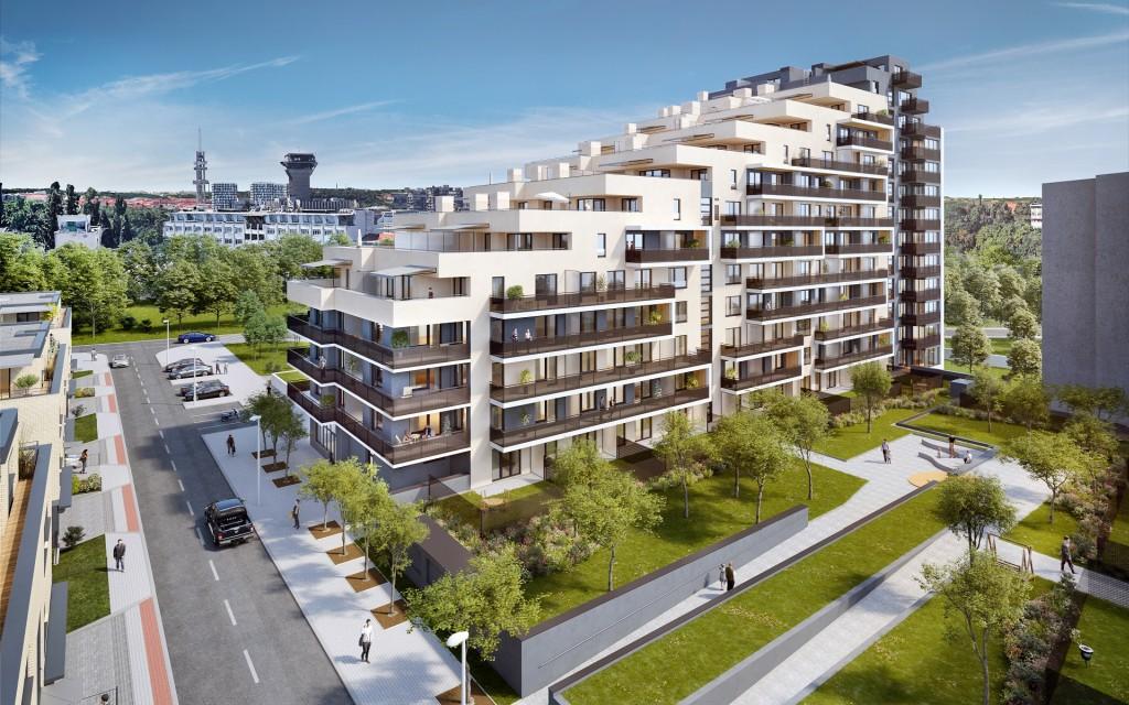 AFI Europe chystá letos nový bytový projekt Tulipa Karlín. Loni prodala na 120 bytů!