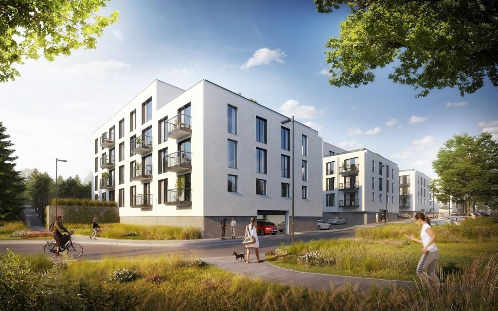 V plzeňském projektu V Zahrádkách bude i družstevní bydlení