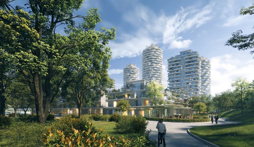 V minulém roce prodali nejvíce nových bytů v Praze Central Group a Finep, stavební povolení získalo o 2742 bytů více než loni