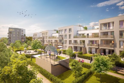 Projekt Na hvězdárně Třebešín má hotovou hrubou stavbu. K dispozici je ještě 8 volných bytů.