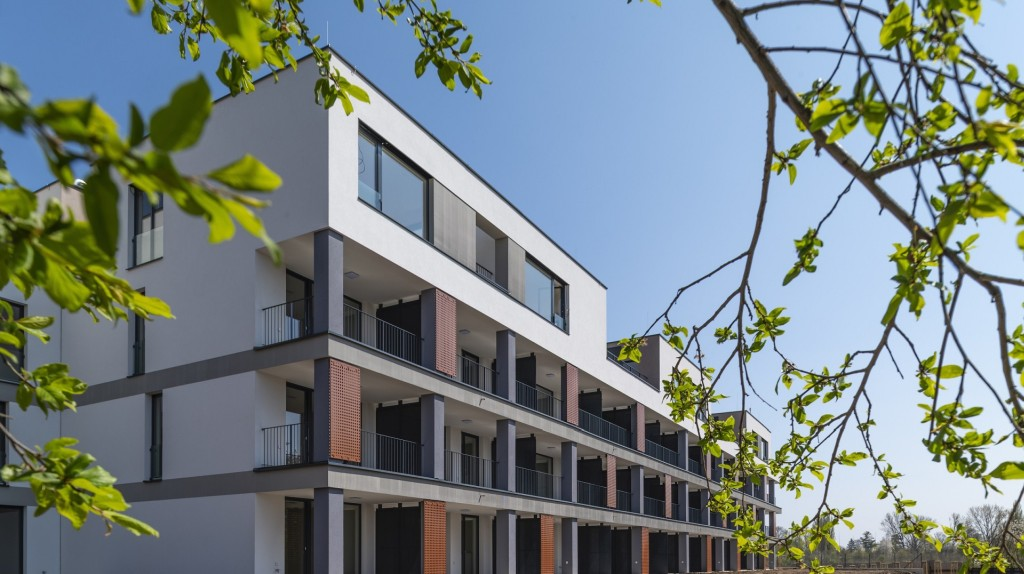 V pražských Kbelích zkolaudovala skupina Realism projekt Bleriot. K dispozici je už jen šest volných bytů.