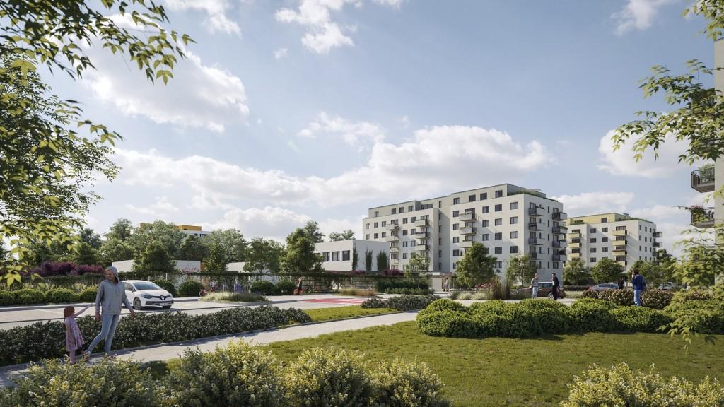 Skanska začal prodávat byty určené zejména mladým rodinám vnovém projektu zeleného bydlení Albatros Kbely