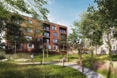 V novém projektu Rezidence U Šárky uvádí na trh developerská společnost FINEP přes dvě stovky atraktivních bytů