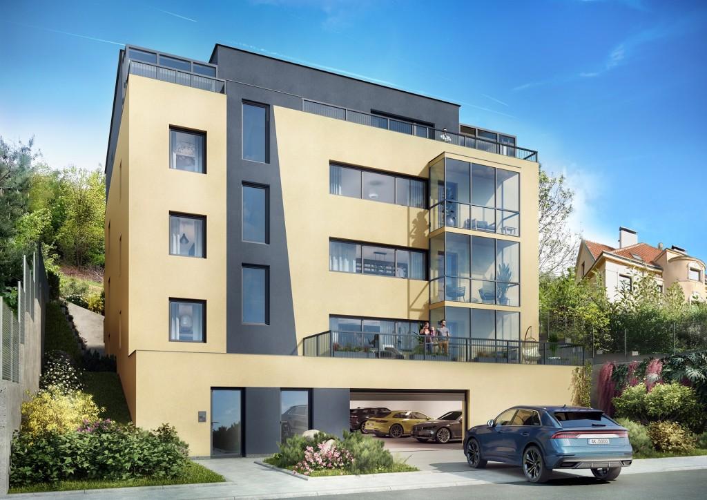 V komorním rezidenčním projektu Villa Střížkovská zahájil Geosan Development prodej 12 velkoryse pojatých bytů