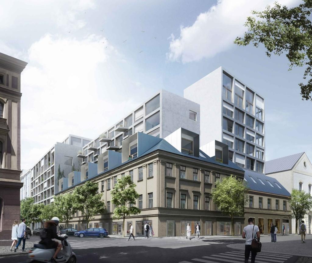 Afi Europe projektem Tulipa Karlín mění strategii. Chystá se v Česku postavit až 1000 nájemních bytů!