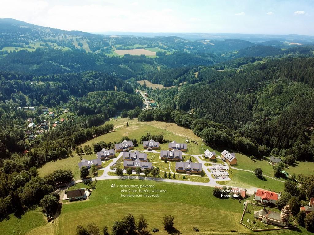 Crescon začal s výstavbou první etapy projektu Aldrov Apartments & Resort. Luxusní rekreační bydlení je i zajímavou investicí.