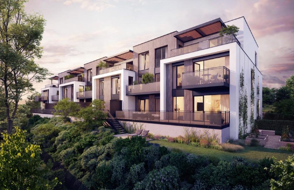 U Bílé hory se začalo s výstavbou nadstandardního bydlení projektu Rezidence U Boroviček