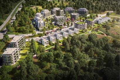Nový projekt UBM Arcus City ve Stodůlkách v sobě spojuje život ve městě s blízkostí přírody. Právě začal předprodej první stovky bytů!