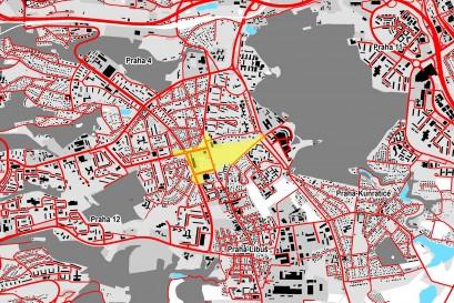 Územní studie prověří okolí nové zastávky metra trasy D Nové Dvory. Měly by se zde stavět i bytové domy.