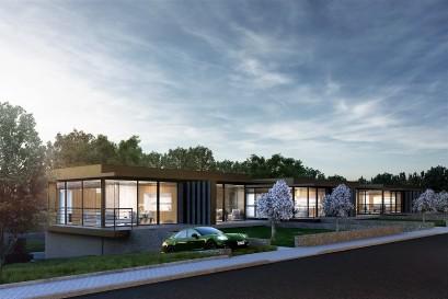 LEXXUS NORTON zahájil prodej komorního rezidenčního projektu Vily Horoušánky