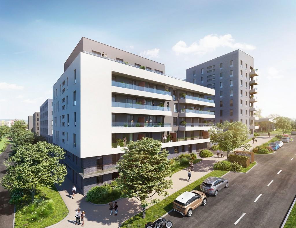 YIT začala s prodejem bytů druhé etapy rezidenčního komplexu Ranta Barrandov