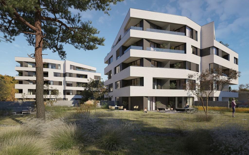 FINEP začal prodávat nové byty v komorním rezidenčním projektu U Sluncové. Otevřel tím novou kapitolu svého podnikání.