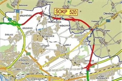 Severovýchodní část Pražského okruhu bude možná pod povrchem