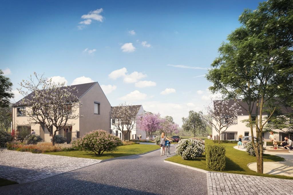 Bydlení Úvaly se těší velkému zájmu klientů. Polovina rodinných domů ze 3. etapy projektu je již prodána.