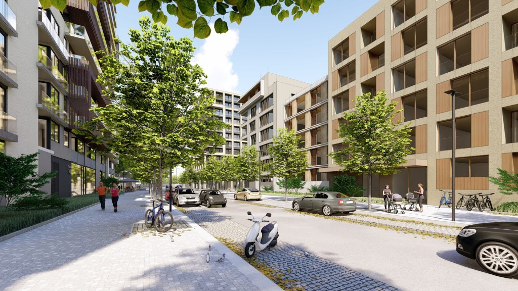 Budoucí rezidenční čtvrť propojí se zbytkem města nová tramvajová trať