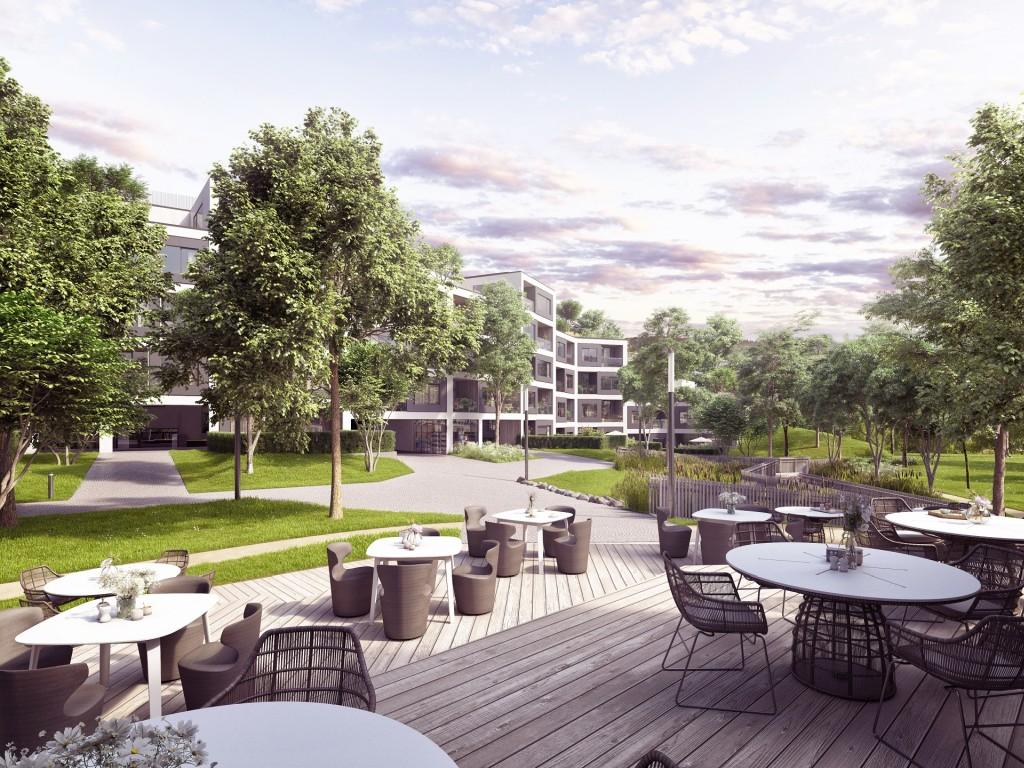 Právě začala výstavba Barrandez-vous, rezidenčního projektu s nadstandardními byty a prostředím pro rendez-vous