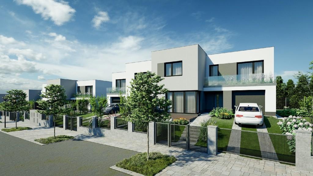 Velký zájem o koupi vil v Nových Chabrech neustává, k prodeji jich zbývá už jen pět