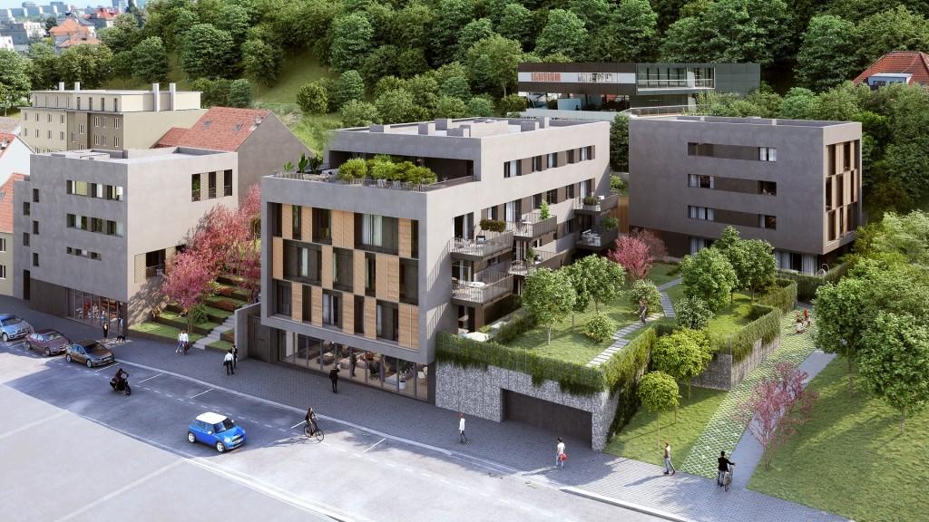 V komorním projektu Rezidence Neklanka začal prodej bytů II. etapy