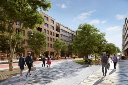 Dnes začala výstavba Smíchov City, největšího projektu v moderních dějinách Prahy