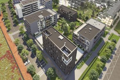 V projektu Ranta Barrandov otevřeli ještě před kolaudací vzorový byt