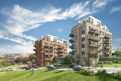 Central Group uvádí do prodeje téměř 500 bytů nového projektu Výhledy Chodovec