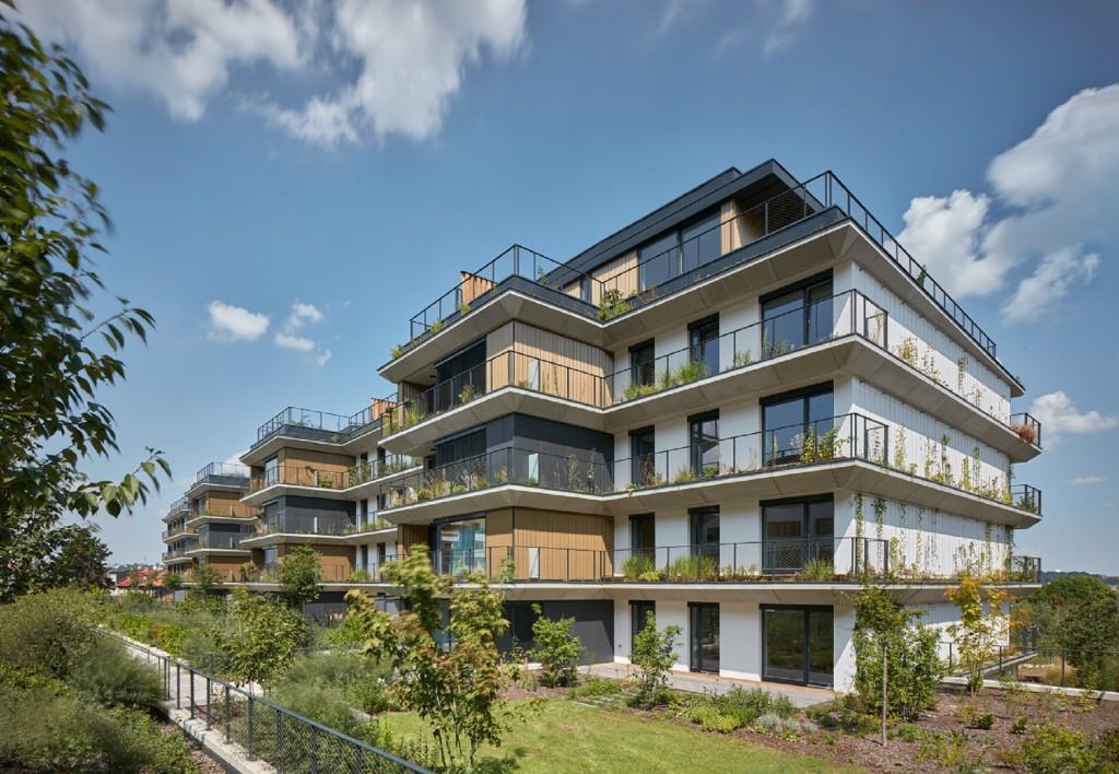 Rezidence Sakura opět zabodovala, je mezi čtyřmi nejlepšími budovami světa
