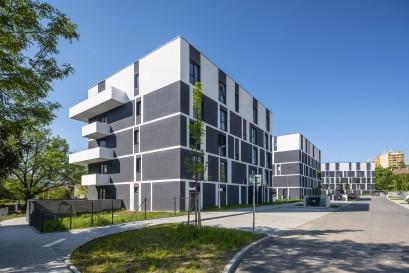 Projekt Berounská brána dokončen, k prodeji zbývá několik posledních bytů a domů