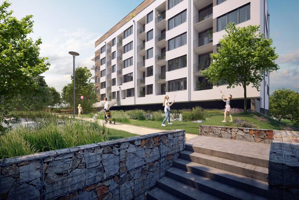 Na trh nájemního bydlení vstupují premiérově dva silní partneři: FINEP a Zeitgeist