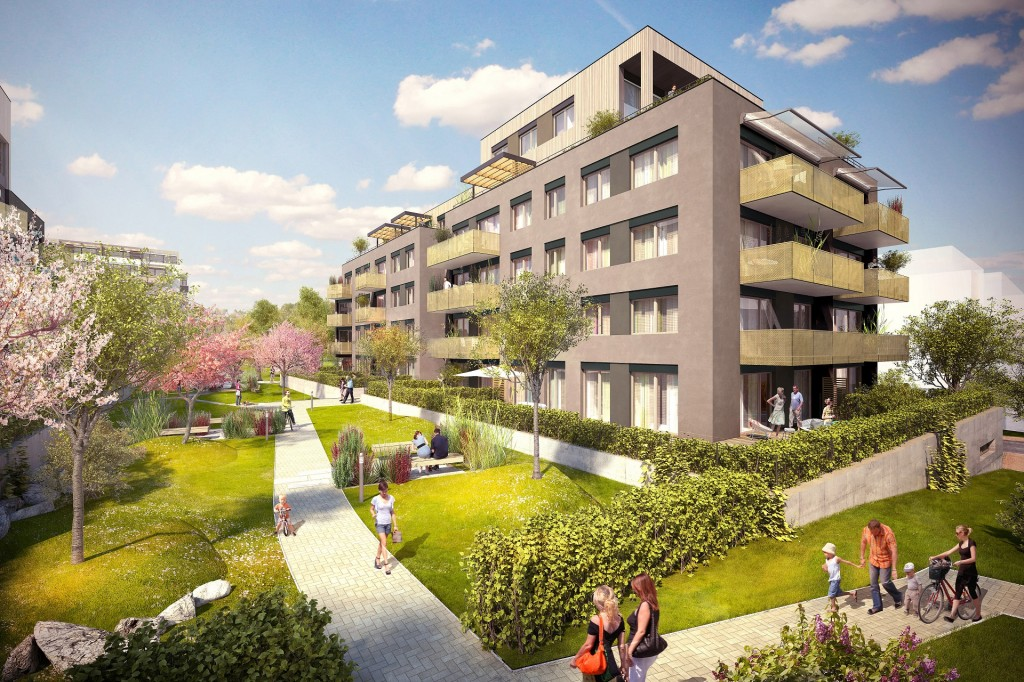 V Ecocity Malešice zkolaudovali dvě energeticky úsporné budovy III. etapy projektu