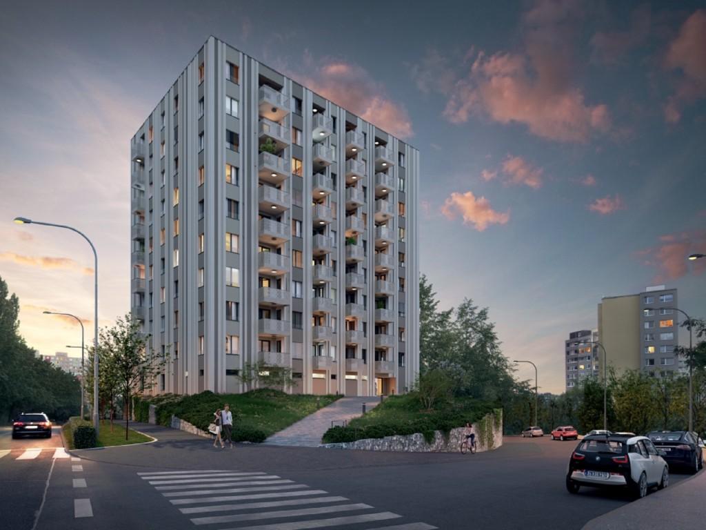 Minutu od metra se začaly stavět moderní byty s home office