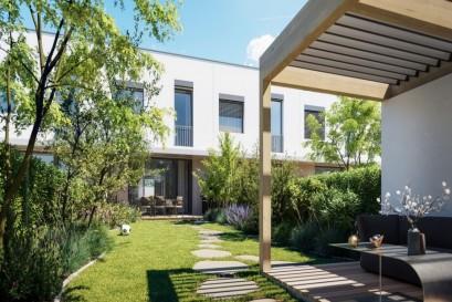 Evergreen Ďáblice přináší příjemné bydlení v zahradní čtvrti