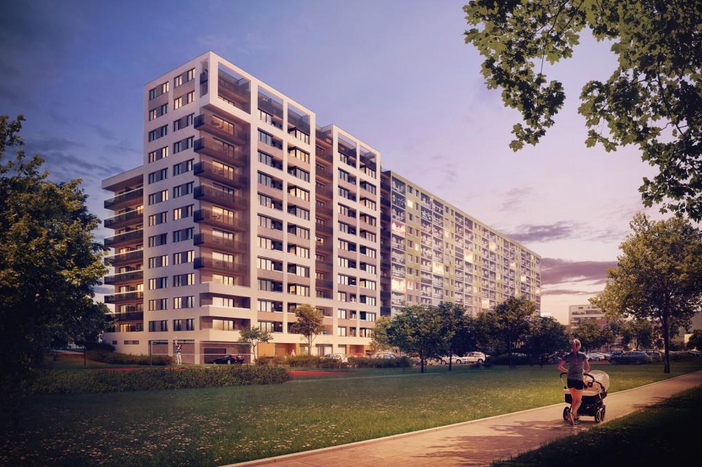 Na dosah Modřanské rokle a lesa Kamýk vznikne nové úsporné bydlení