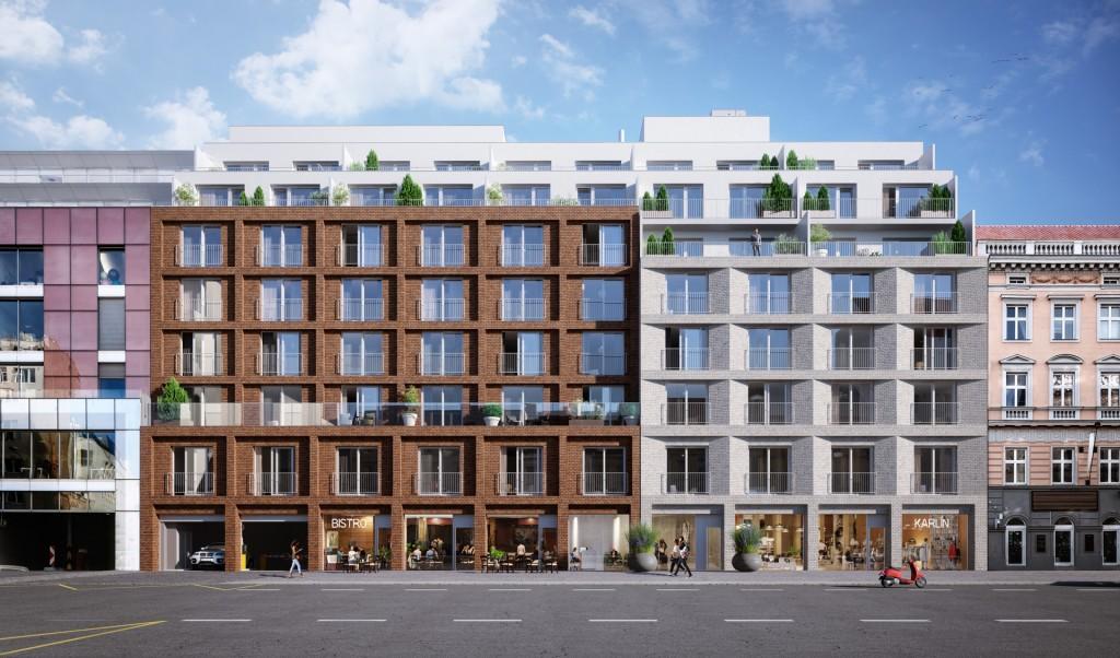 V atraktivním projektu v Karlíně je prodána už více než polovina bytů