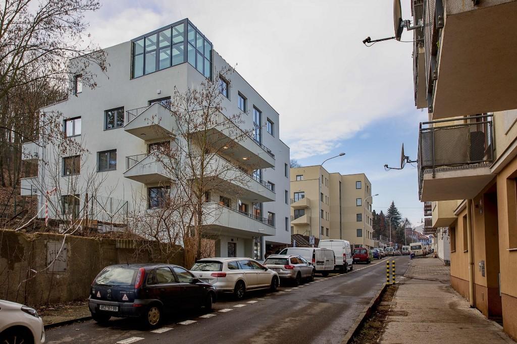 První dva domy Rezidence Neklanka dokončeny, vprodeji byty II. etapy