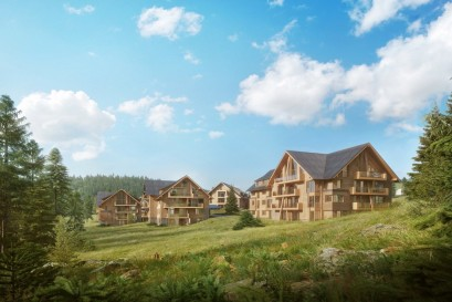 V krkonošských Vítkovicích zahájili prodej II. etapy projektu horských apartmánů