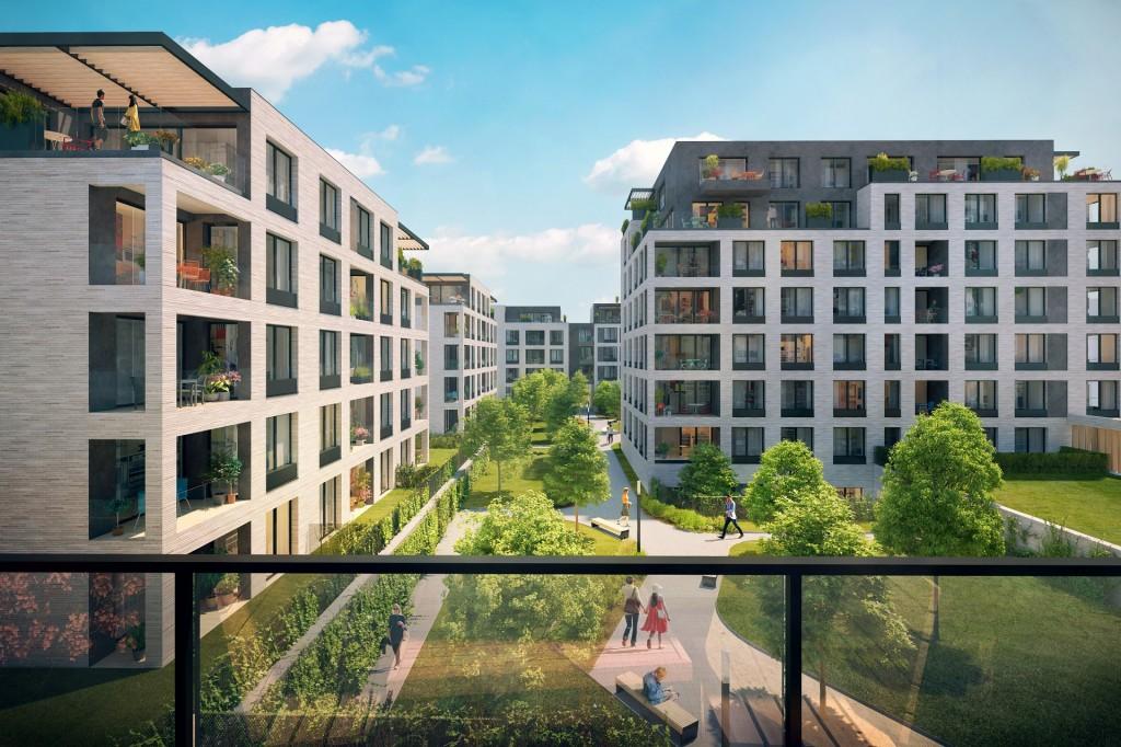Rezidence Silver Port má hrubou stavbu, mnoho bytů ke koupi již nezbývá