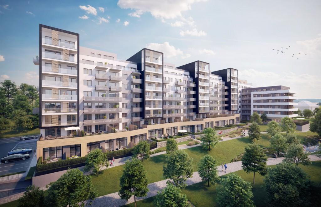Začalo se stavět Bohdalecké kvarteto, už jen čtvrtina bytů volných